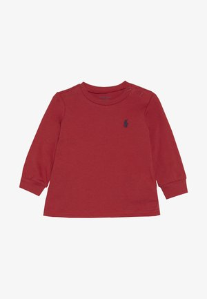 Long sleeved top - sunrise red