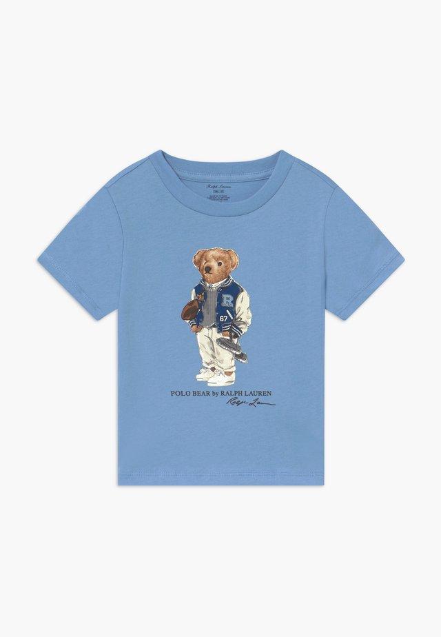 T-shirt med print - blue lagoon