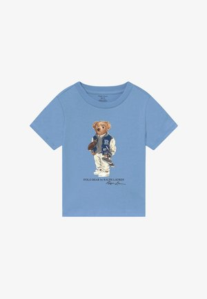 T-shirt con stampa - blue lagoon