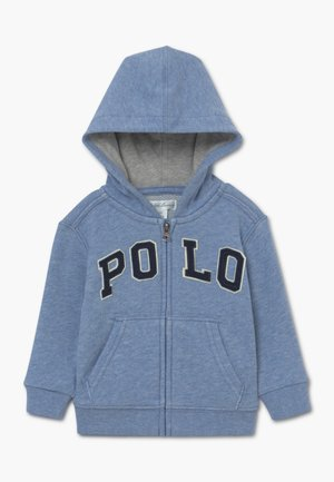 HOOD - Mikina na zip - cobalt heather