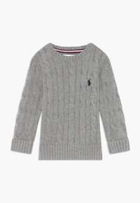 Polo Ralph Lauren - CABLE - Svetr - andover heather - 0