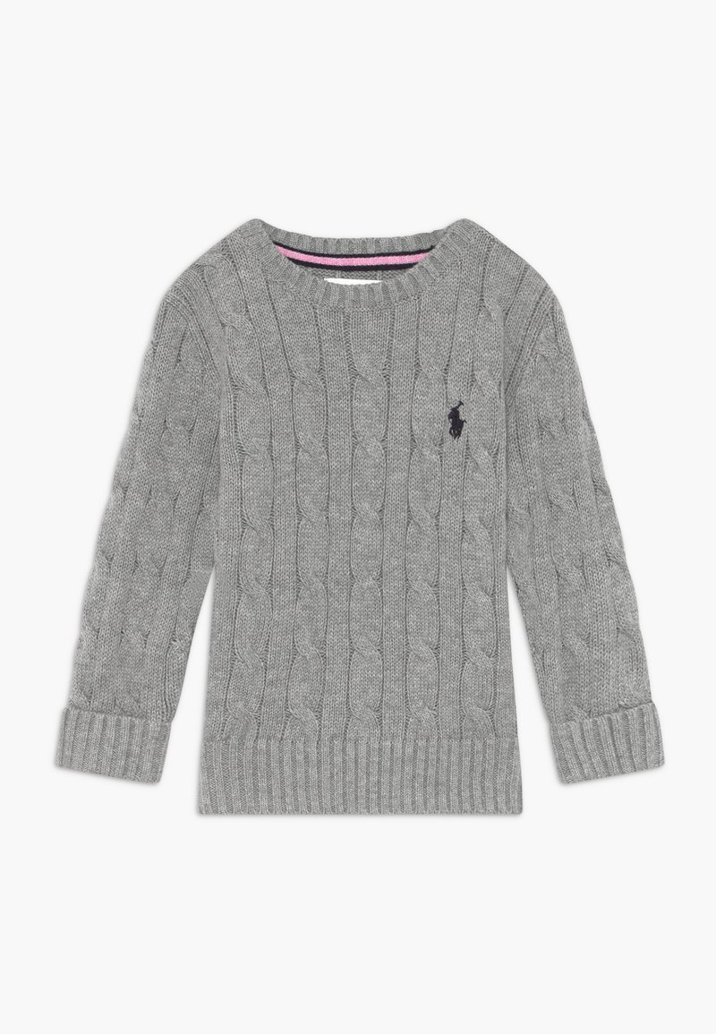 Polo Ralph Lauren - CABLE - Svetr - andover heather