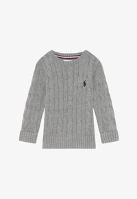 Polo Ralph Lauren - CABLE - Svetr - andover heather - 2