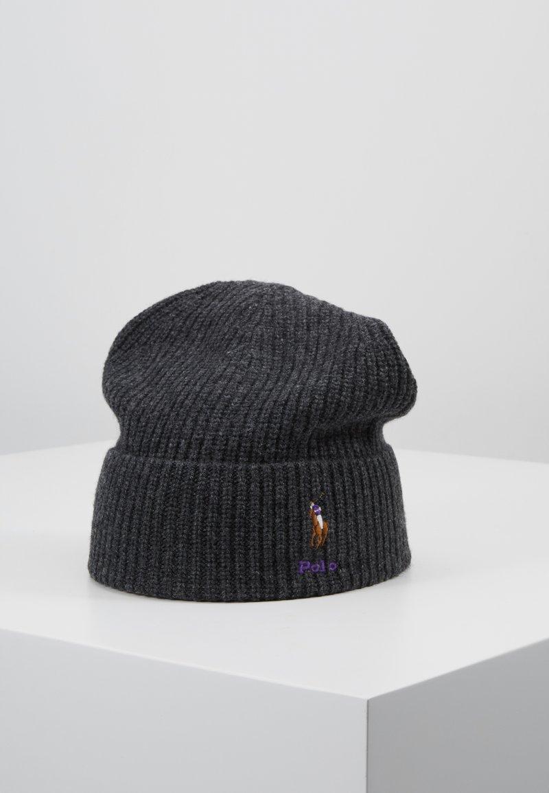 Polo Ralph Lauren - BLEND CARD - Bonnet - charcoal