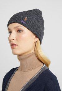 Polo Ralph Lauren - BLEND CARD - Bonnet - charcoal - 1