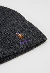 Polo Ralph Lauren - BLEND CARD - Bonnet - charcoal - 4