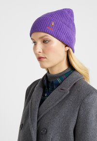 Polo Ralph Lauren - BLEND CARD - Berretto - bright violet heather - 1