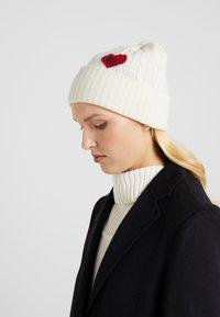 Polo Ralph Lauren - HEART - Bonnet - cream - 1