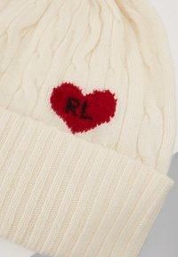 Polo Ralph Lauren - HEART - Bonnet - cream - 4