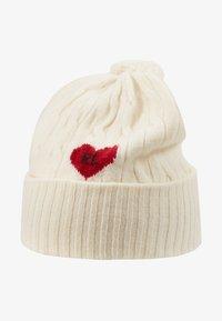 Polo Ralph Lauren - HEART - Bonnet - cream - 3