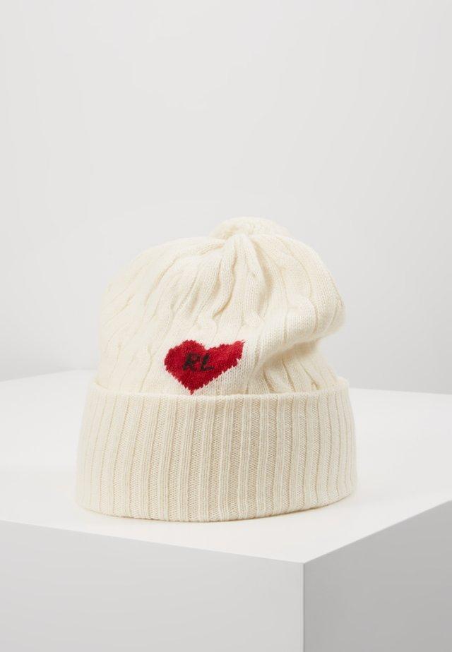 HEART - Berretto - cream