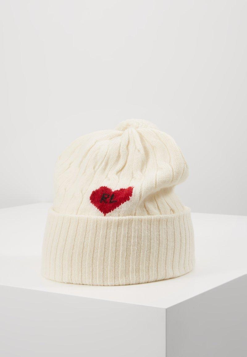 Polo Ralph Lauren - HEART - Bonnet - cream