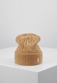 Polo Ralph Lauren - CABLE HAT - Lue - camel melange - 0