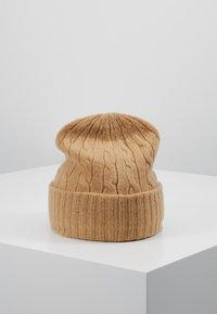 Polo Ralph Lauren - CABLE HAT - Lue - camel melange - 2