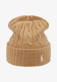 Polo Ralph Lauren - CABLE HAT - Lue - camel melange - 3