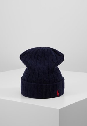 CABLE HAT - Bonnet - navy