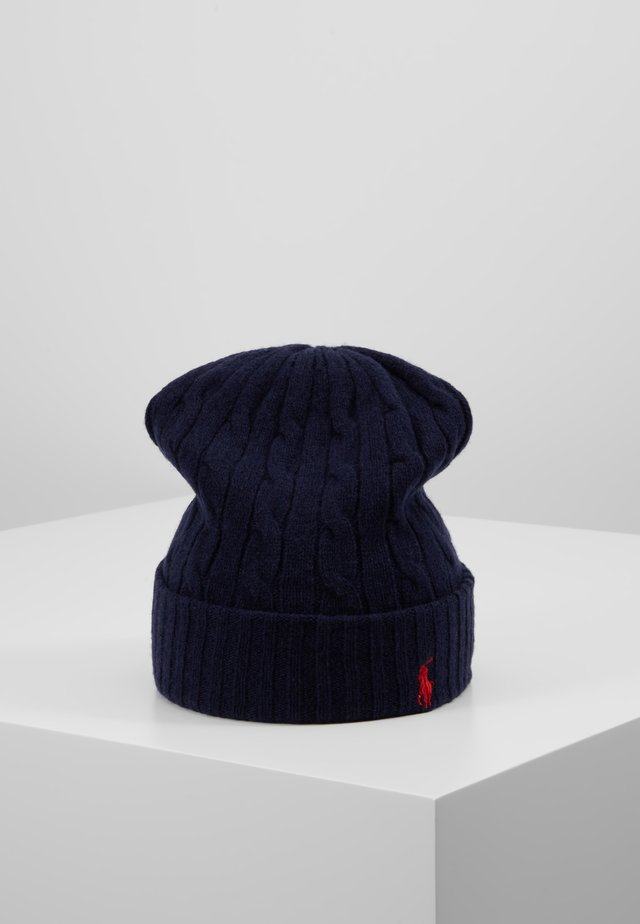 CABLE HAT - Mössa - navy