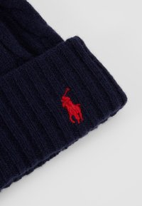 Polo Ralph Lauren - CABLE HAT - Čepice - navy - 4