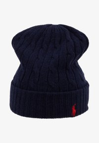 Polo Ralph Lauren - CABLE HAT - Čepice - navy - 3