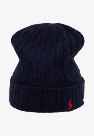 CABLE HAT - Čepice - navy