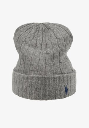 Czapka - fawn grey heather