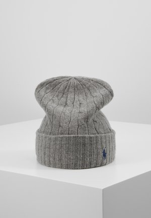 Gorro - fawn grey heather