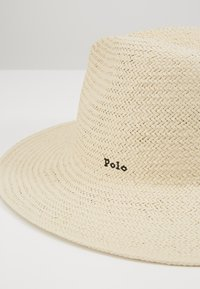 Polo Ralph Lauren - STRAW-STRAW SUNHAT-HAT - Hut - natural - 2