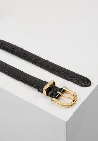 Polo Ralph Lauren - EMBOSSED - Pásek - black - 2