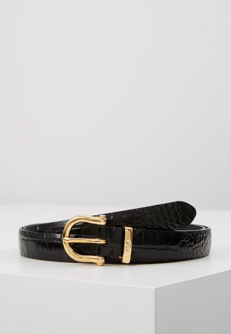 Polo Ralph Lauren - EMBOSSED - Pásek - black
