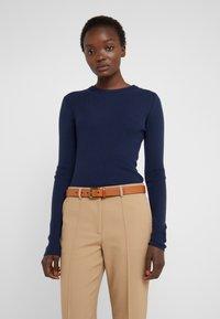 Polo Ralph Lauren - DRESS BELT - Pásek - cuoio - 1
