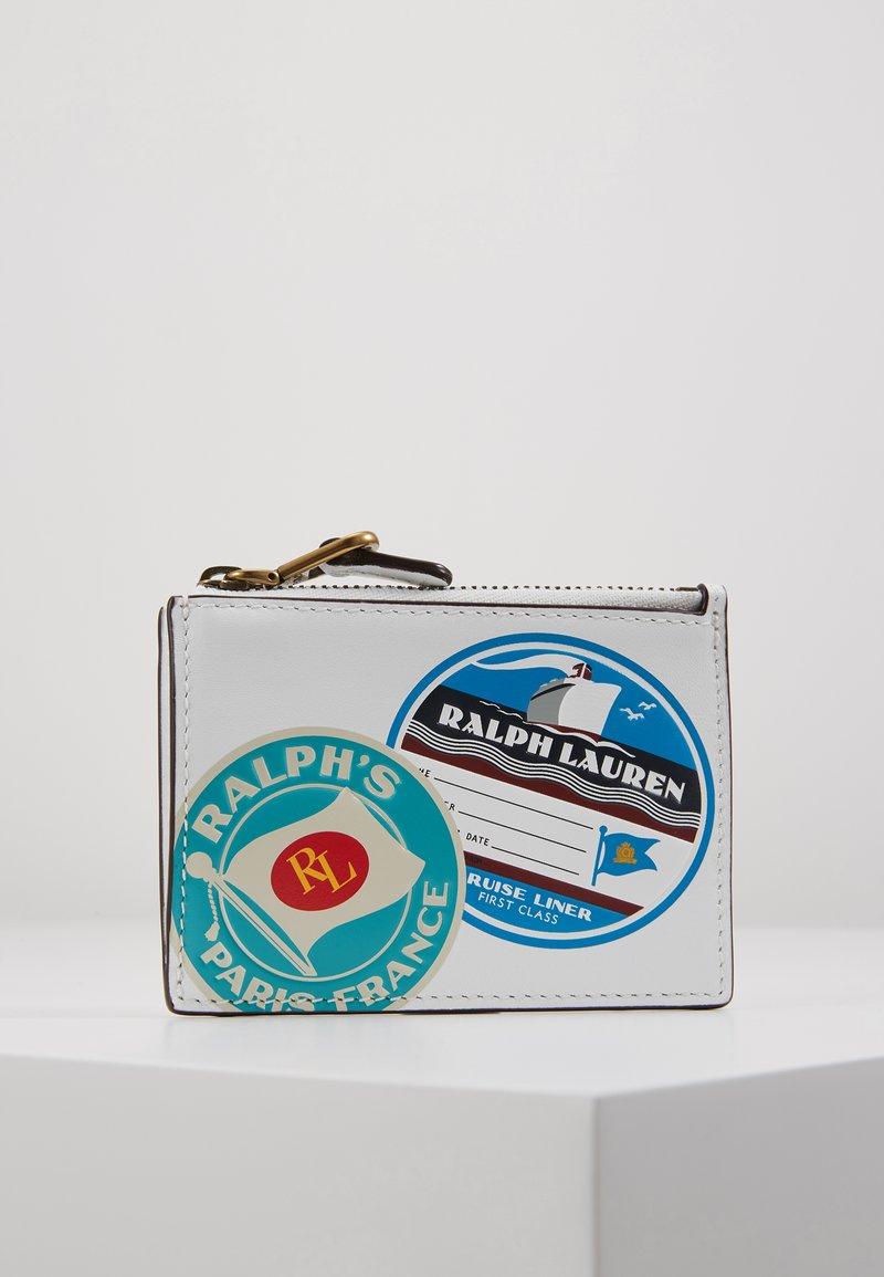 Polo Ralph Lauren - TRAVEL - Portemonnee - white/multi-coloured