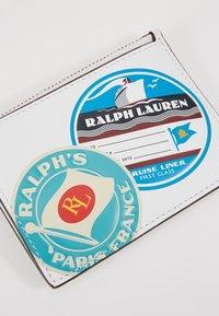 Polo Ralph Lauren - TRAVEL - Portemonnee - white/multi-coloured - 2