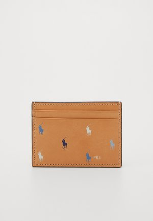 PONY REPEAT CARD CASE - Portemonnee - natural