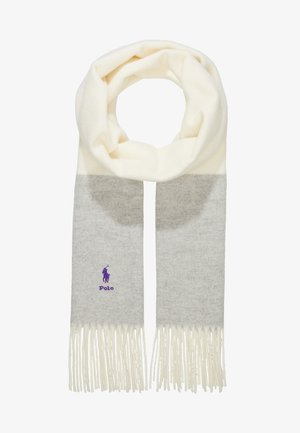 SCARF - Scarf - cream/grey