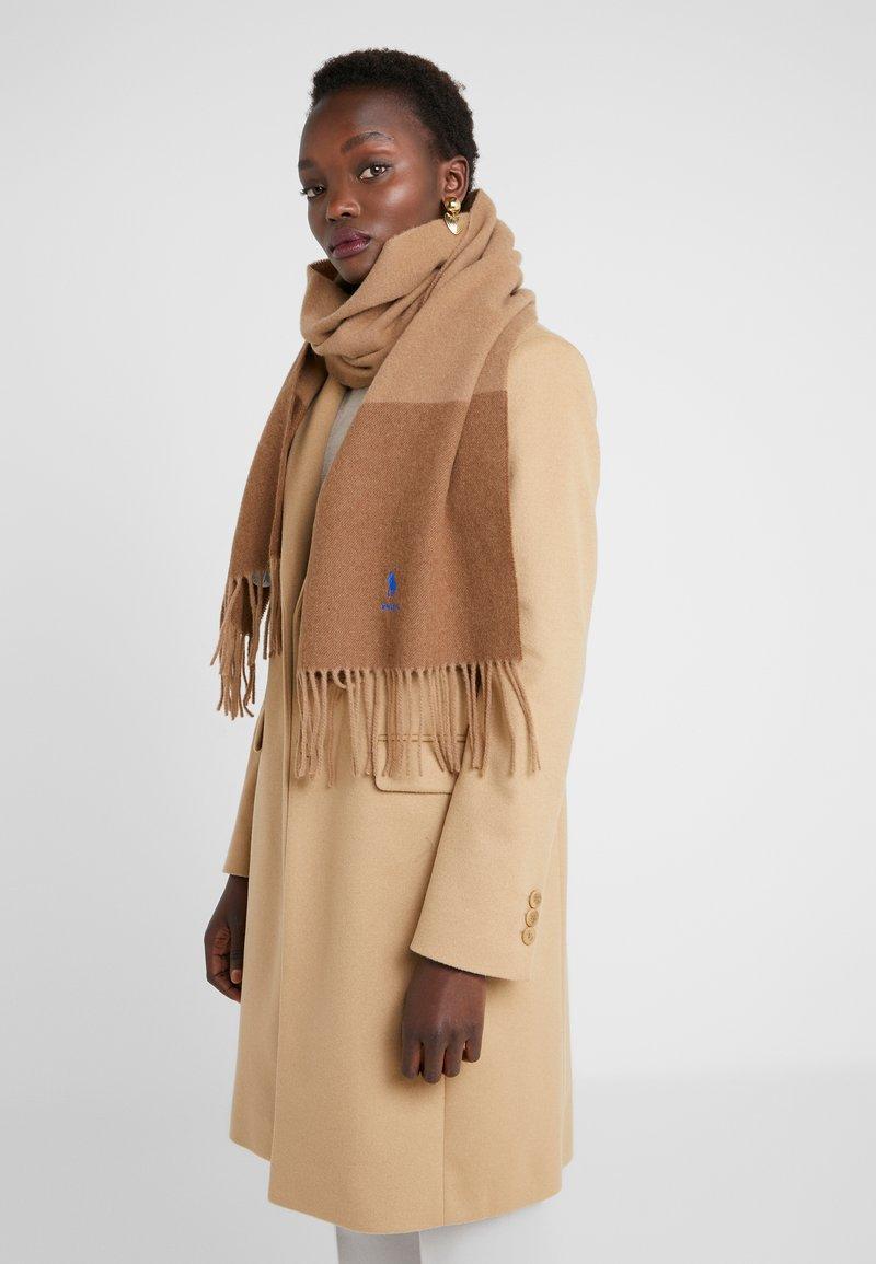 Polo Ralph Lauren - SCARF - Sjaal - camel/vicuna