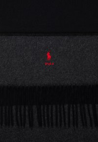 Polo Ralph Lauren - SCARF - Szal - black/charcoal - 2
