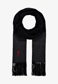 Polo Ralph Lauren - SCARF - Scarf - black/charcoal - 1