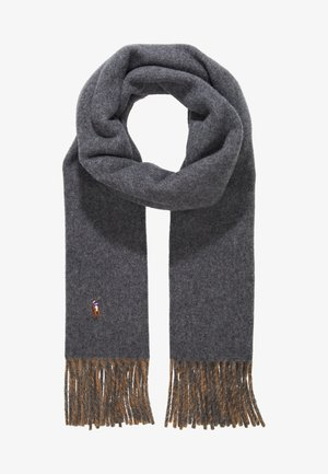 SIGN SCARF - Halsduk - grey/camel