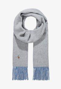 Polo Ralph Lauren - SIGN SCARF - Scarf - grey/blue - 1