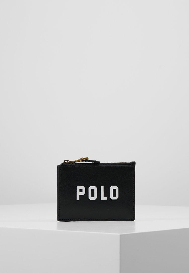 Polo Ralph Lauren - MODERN ZIP - Geldbörse - black
