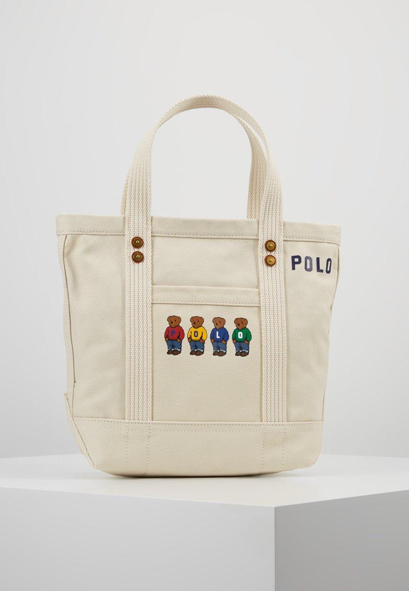 Polo Ralph Lauren - BEAR SMALL - Handtasche - ecru