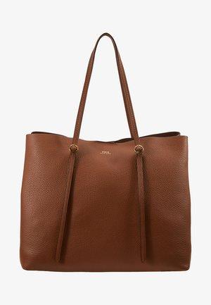 Shopping Bag - saddle