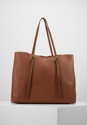 Bolso shopping - saddle