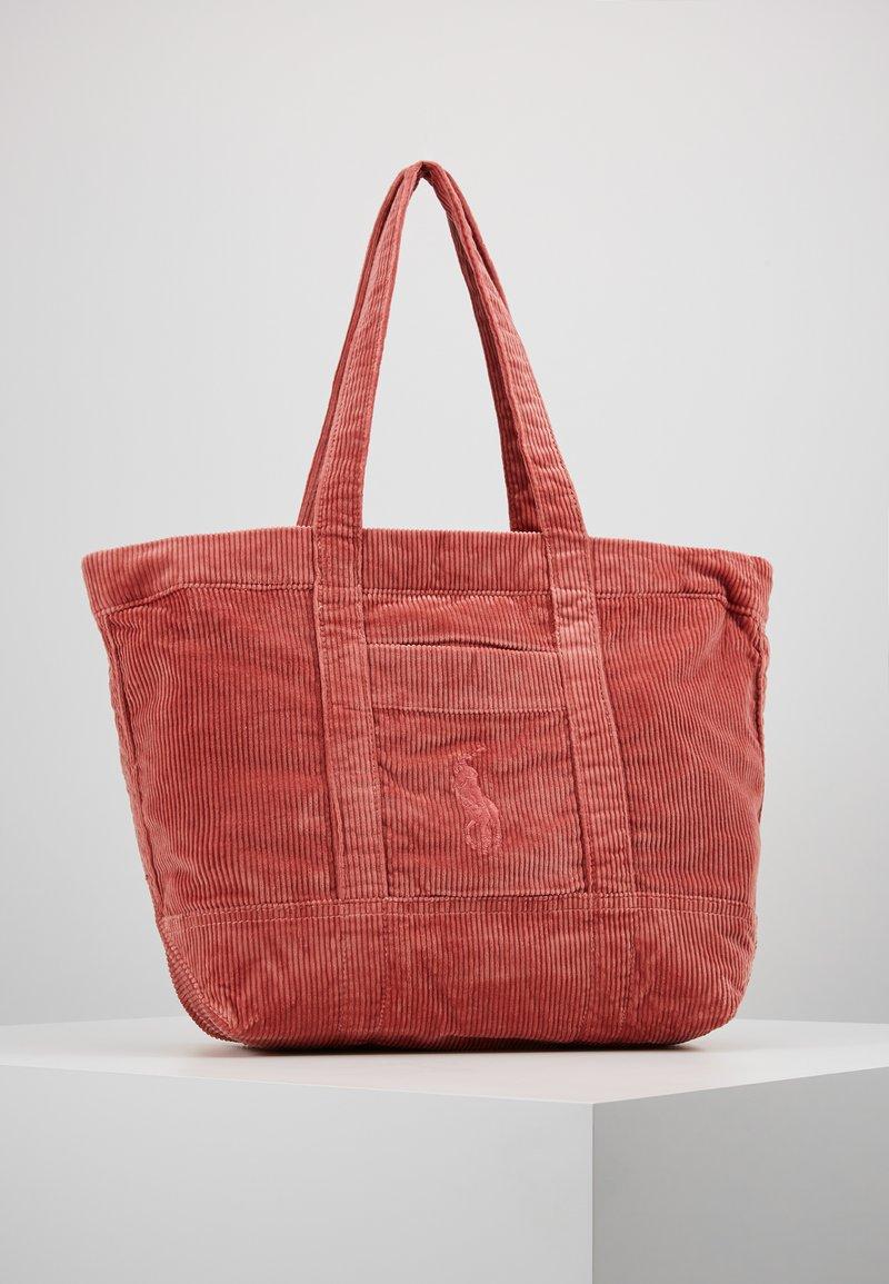 Polo Ralph Lauren - TOTE - Shoppingväska - desert rose