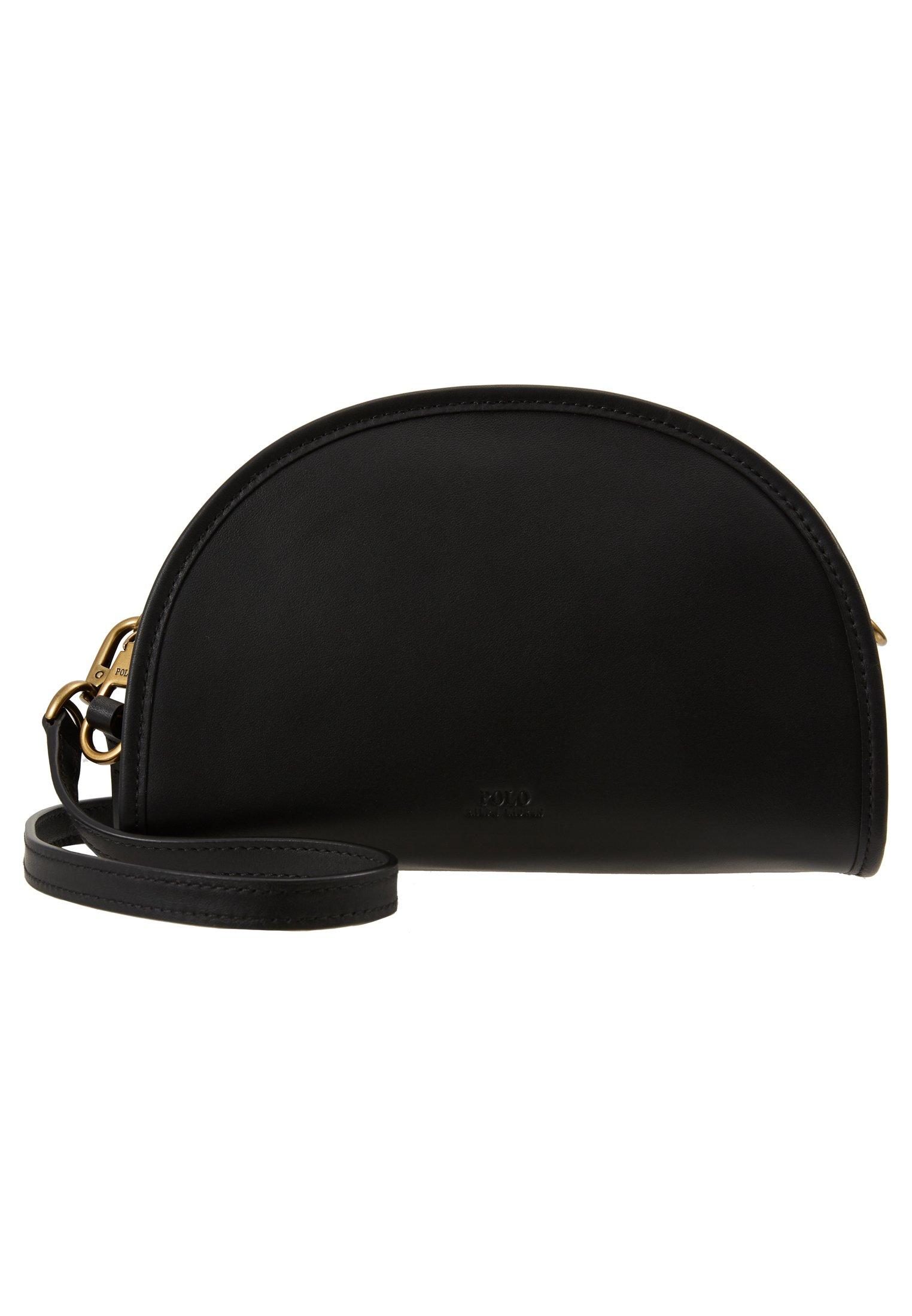 Polo Ralph Lauren HALF MOON - Umhängetasche - black - Black Friday