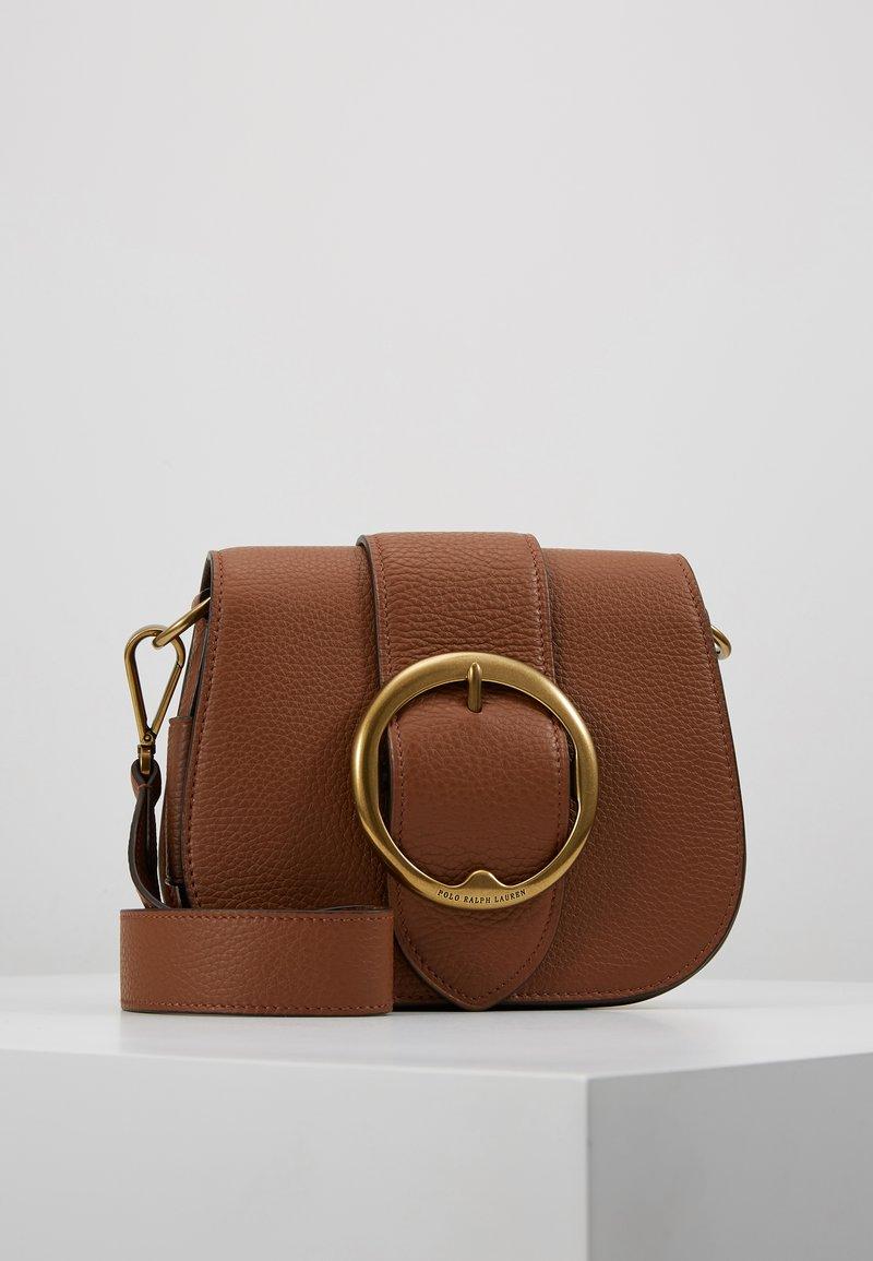 Polo Ralph Lauren - BELT SADDLE - Across body bag - cognac