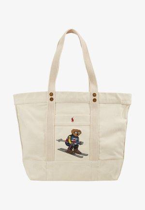 SKI BEAR TOTE - Bolso shopping - white