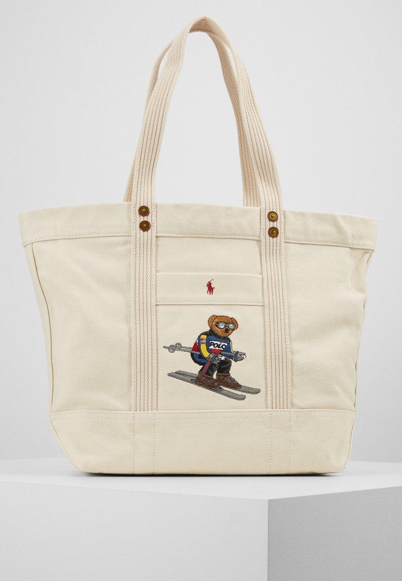 Polo Ralph Lauren - SKI BEAR TOTE - Velká kabelka - white