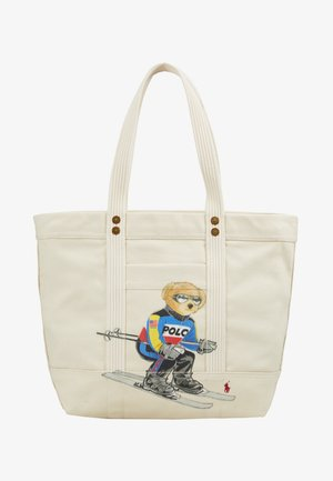 SKI BEAR TOTE - Bolso shopping - white