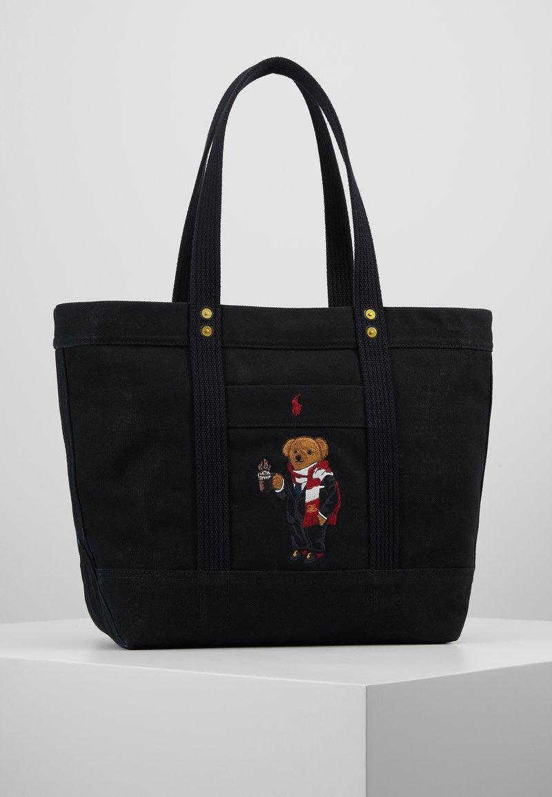 Polo Ralph Lauren - COFFEE BEAR TOTE - Shopping Bag - black